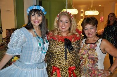 Mônica Cortopassi, Mirley Campos, Luzia Câmara