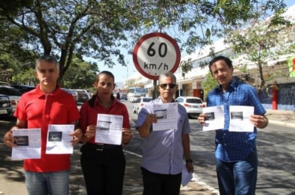 Motoristas denunciam falhas na fiscalização eletrônica - Foto: Jornal de Brasília