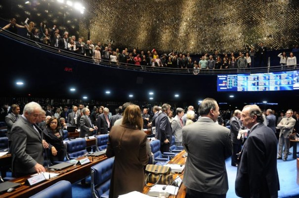 Senado aprova aumento para o Judiciário - Foto: Jefferson Rudy/Agência Senado