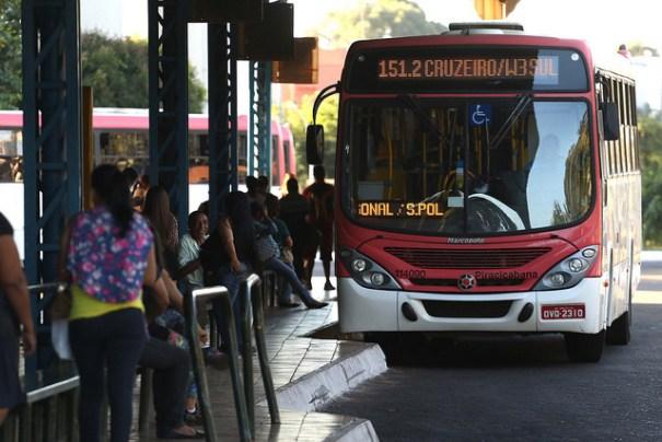 Linhas de ônibus que atendem o Cruzeiro passarão por mudanças - Foto: Agência Brasília / GDF