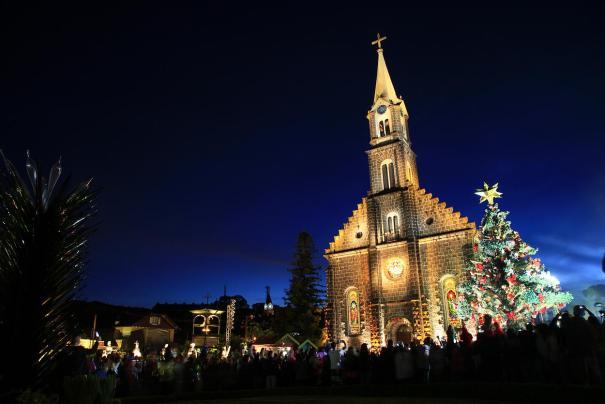 Natal Luz de Gramado - Show de Acendimento - Foto: Cleiton Thiele/SerraPress