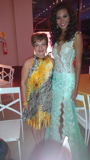 Luzia Câmara e Miss DF