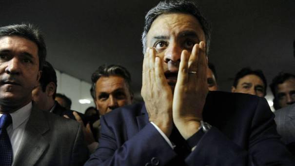 Aécio Neves: segundo os auditores, a campanha do candidato deixou de declarar R$ 3,9 milhões em recebimentos estimáveis - Foto: Gabriela Korossy/Câmara dos Deputados
