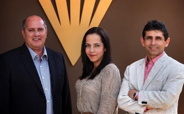 Agapito Palhares, Daniela Rosa e Márcio Cunha - Foto: Clausem Bonifácio