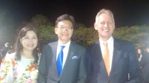 Embaixador da Tailândia, Pichayapahnt Chambhumido e Esposa, Embaixador da Holanda, Han Peters, prestigiaram o evento