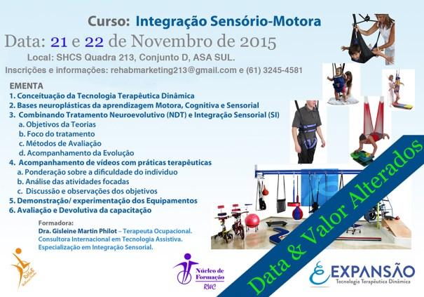 Rehab promove curso de Integração Sensório-Motora