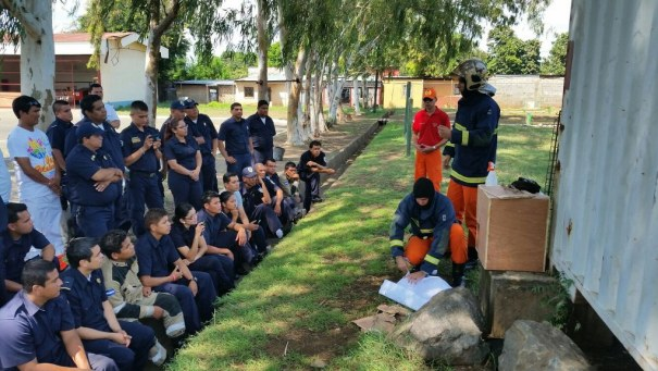 República da Nicarágua - América Central - COI - Curso de Operações em Incêndio - Foto: CBMDF
