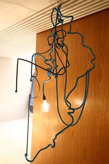 """Cordas, mesmo rústicas, são """"Estrelas"""" da decoração na Casa Cor Brasília 2015"""