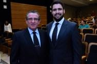 Diretor executivo do IUC, Athayde Fontoura, e o advogado Eduardo Affonso Mello