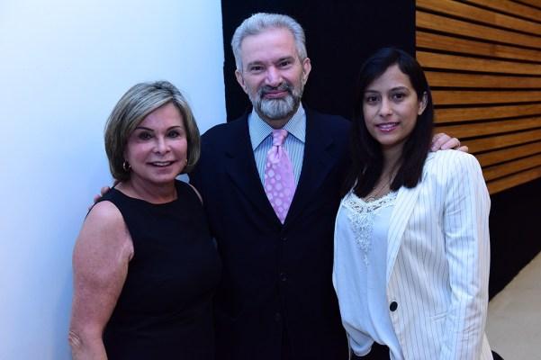Desembargadora Sandra De Santis, procurador de justiça do MPDFT, Dr. Diaulas Ribeiro e a esposa Kelle Lobato