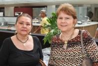 Maria José Silva Almeida e Élida Barros - Foto: Alan Santos