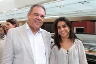 Miguel Barbosa e Luciana Leal - Foto: Alan Santos
