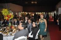 Luzia Câmara ao lado do Embaixador da Guatemala
