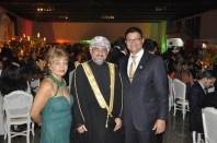 Luzia Câmara, Diplomata de Omã, Dr. Wellington Queiroz
