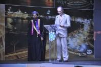 S.E.Dr. Khalid Said Salem Aljaradi, Embaixador do Sultanato de Omã, e o Ministro da Defesa, Aldo Ribeiro