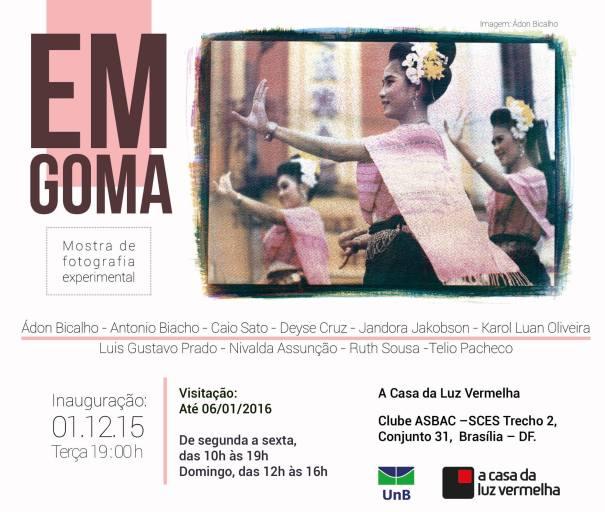 Exposição EnGoma - Mostra de Fotografia Expedimental
