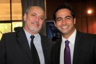 David Verissimo e o secretário de Turismo do DF, Jayme Recena