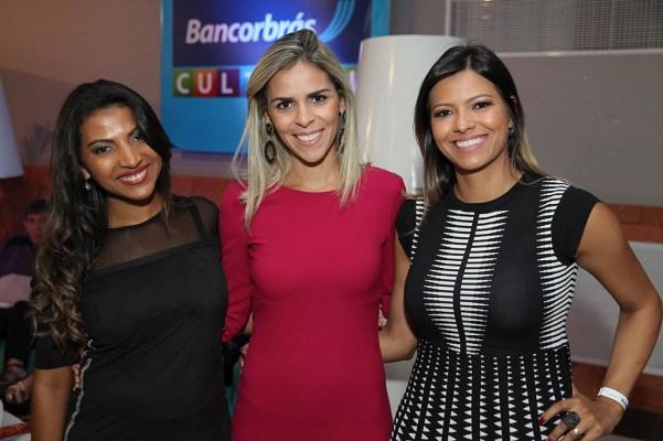 Geisa Cristina, Lorena Moreira e Alessandra Monteiro - Crédito Cidu Okubo
