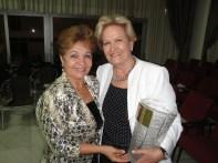 Luzia Câmara e a Senadora Ana Amélia