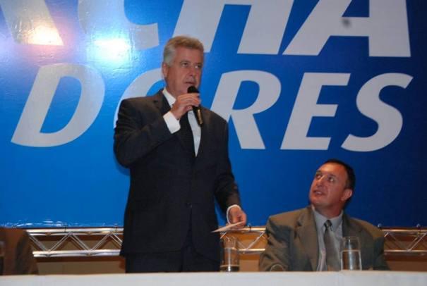 Governador do DF falou aos vereadores presentes no encontro de 2016
