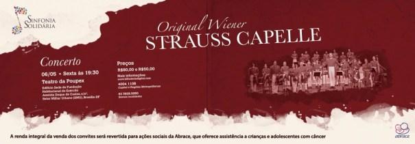 Orquestra de Viena se Apresenta HOJE (06/05) em Brasília