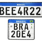 Placas do Mercosul serão exigidas em veículos até o final de 2020
