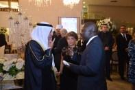 Embaixador do Estado de Kuwait, S.E. Sr. Ayadah M. Alsaidi, Luzia Câmara e Izamba Kapalo do portal Guia BSB.net
