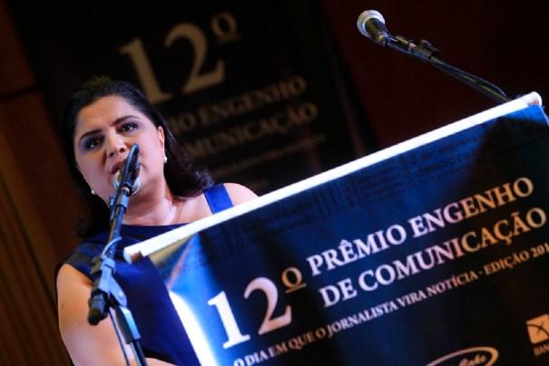 Presidente do Prêmio Engenho de Comunicação, Katia Cubel - Crédito Marri Nogueira