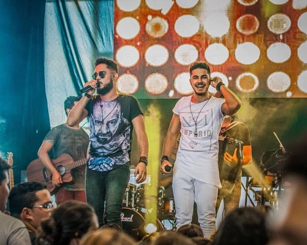 Zé Felipe e Miguel estarão presentes na festa junina do Arraiá de Águas Claras