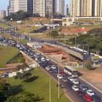 Trânsito por baixo do viaduto da EPTG/EPCT será totalmente interditado neste sábado (21)
