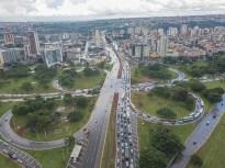Alargamento de viaduto de Taguatinga beneficiará 135 mil motoristas - Foto: Renato Alves/Agência Brasília