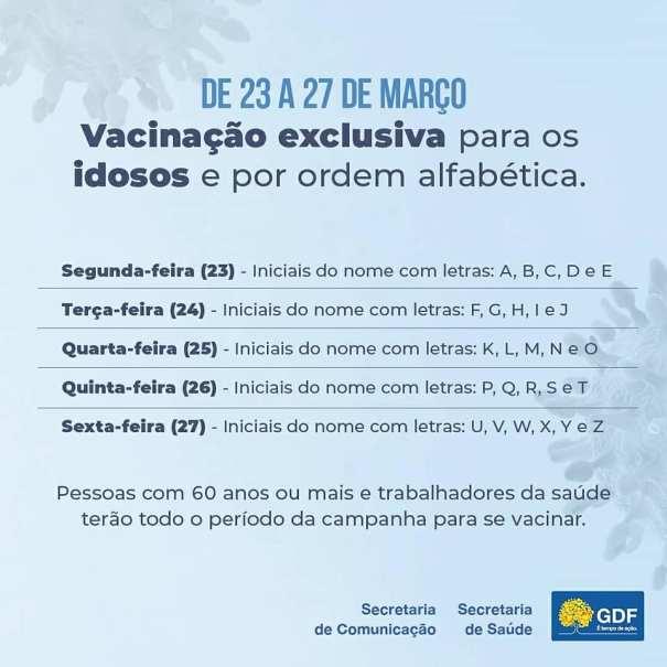 Vacinação contra influenza começa nesta segunda-feira (23/03), com novas regras