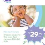 Crescer saudável fica mais fácil com Amil Dental Kids