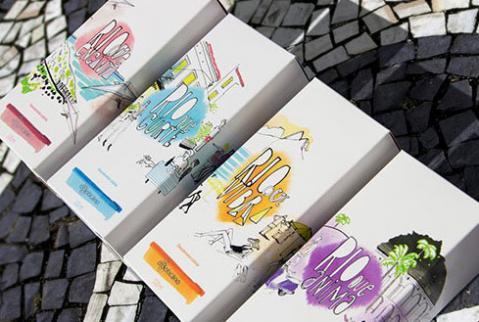 Embalagens especiais para campanha Rio, Eu Te Amo, de O Boticário