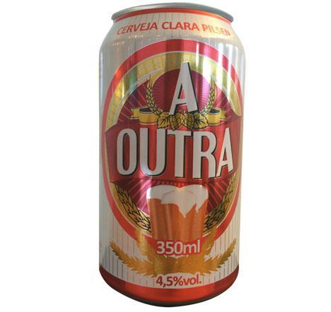 Cerveja A Outra lança lata que muda de cor quando chega aos 8ºC