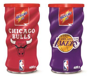 Nescau lança edição especial de latas colecionáveis com times da NBA ... 7dce5a391bb