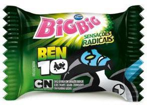 Arcor moderniza embalagem de Big Big Ben 10