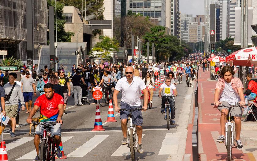 Passeio a pé pela Av. Paulista
