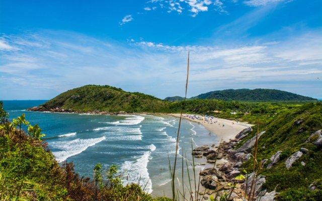 Praia da Fortaleza, Ilha do Mel, Brasil