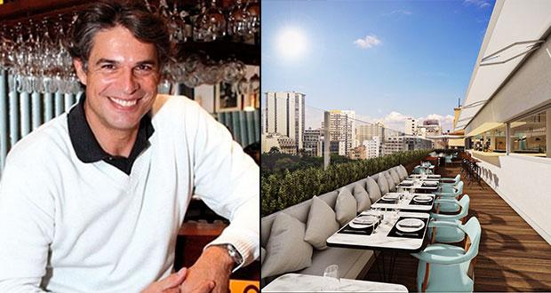 Olivier Anquier inaugura restaurante no topo de edifício na República