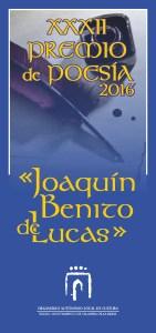 Premio poesia Joaquin Benito de Lucas_2016