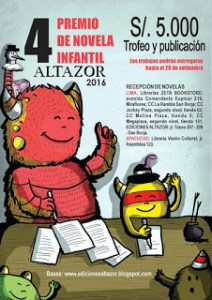 premio novela infantil altazor