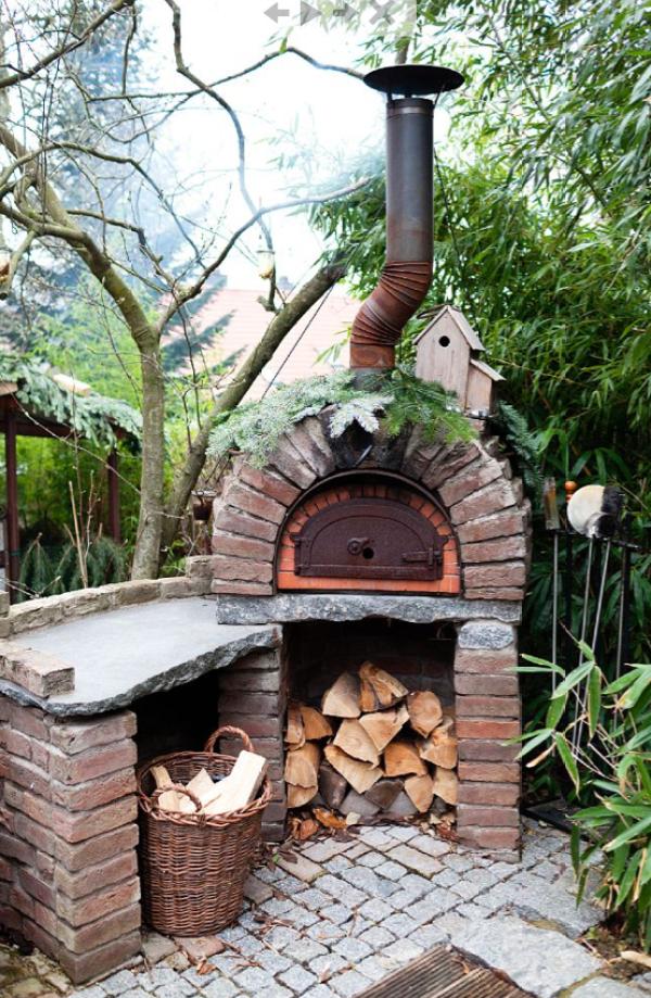 10 idee per utilizzare i mattoni in giardino guida giardino for Barbecue in muratura obi