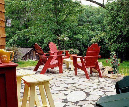 7 idee intelligenti per realizzare un giardino senza manto erboso  Guida Gia...