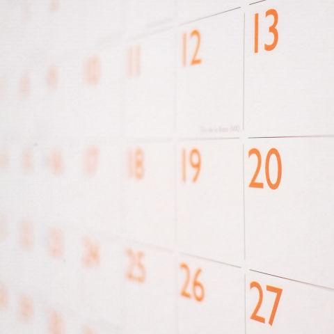 calendario, strumento utile per la semina e per i trapianti