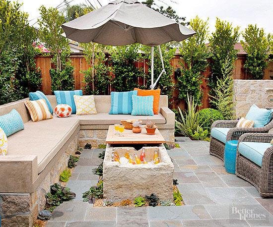 Idee Per Arredare Il Patio : Come valorizzare un piccolo patio: 14 idee da cui trarre spunto