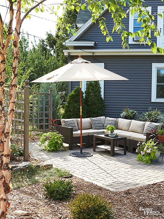 come valorizzare un piccolo patio: 14 idee da cui trarre spunto ... - Come Decorare Un Piccolo Patio