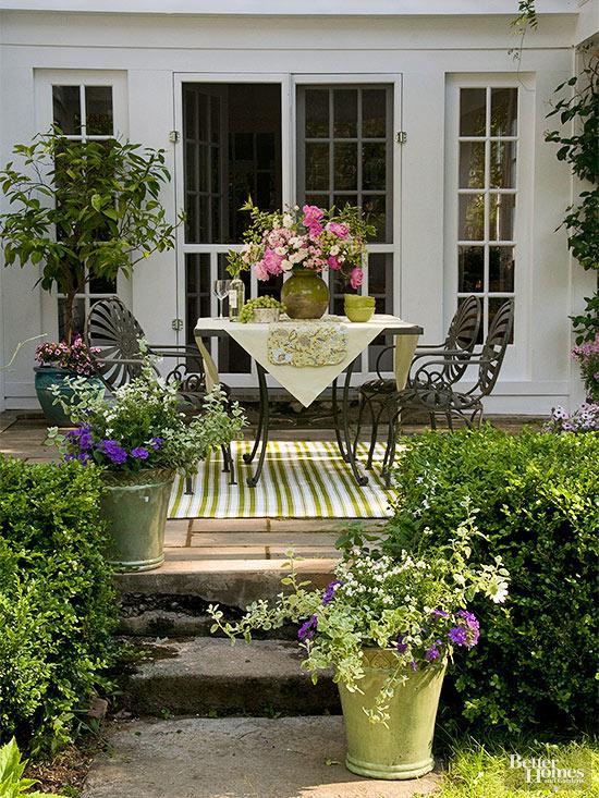 valorizzare un piccolo patio