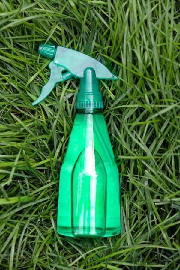 L'alcool è un potente disidratante, da nebulizzare esclusivamente sulle erbe infestanti per eliminarle