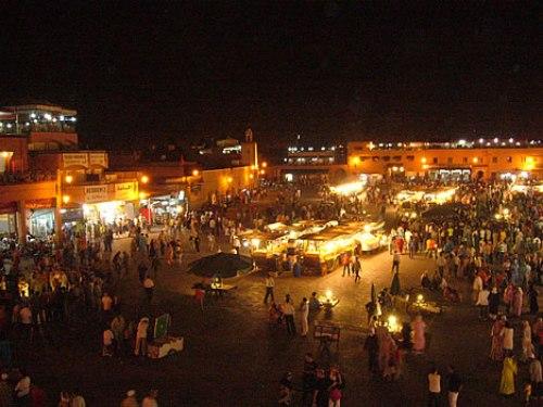 Plaza Jemaa el Fna - jmaa-el-fna